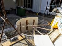 Aussenwhirlpool in Terrasse bauen
