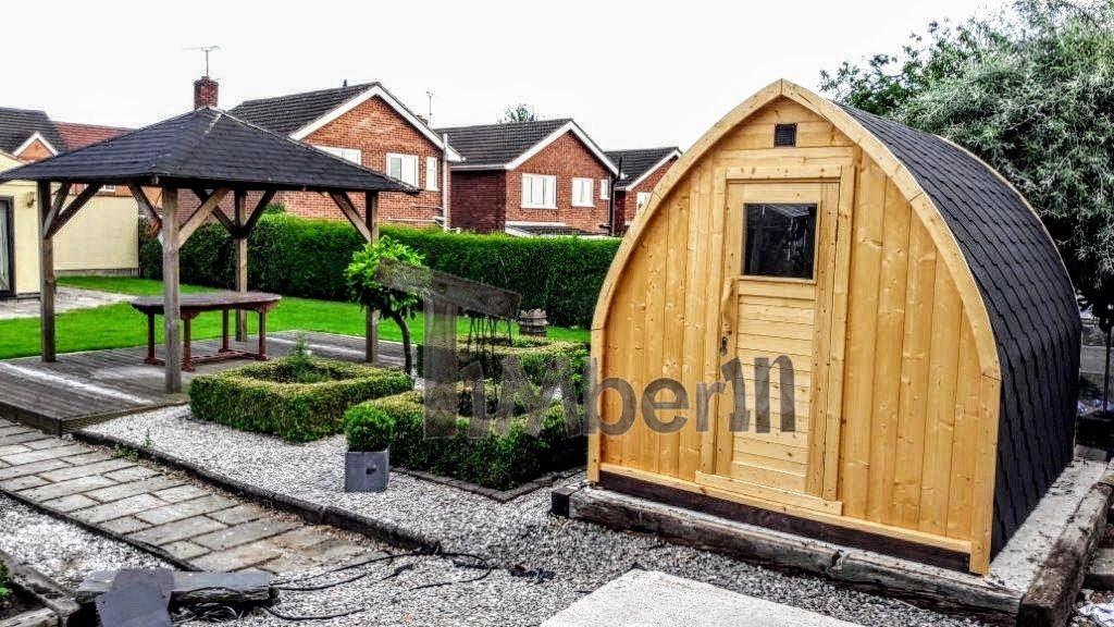 Außensauna im UK Iglu Design