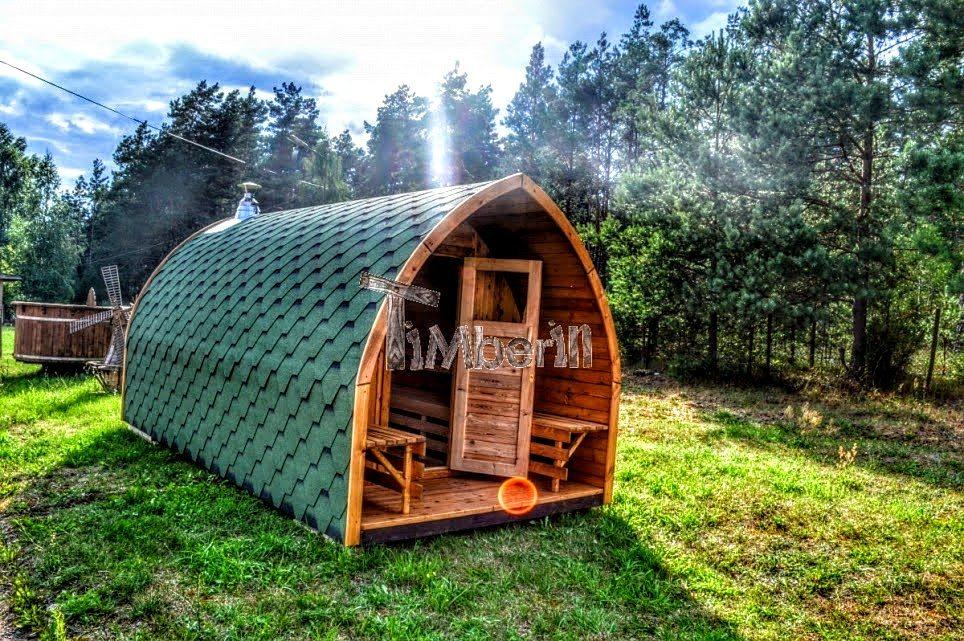 Garten Holzsauna iglu design
